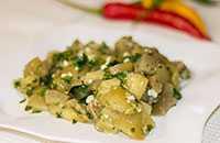 Жаренные баклажаны в сметане как грибы, с луком и чесноком. рецепт с пошаговыми фото