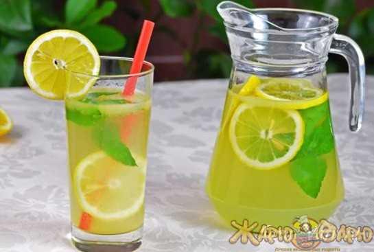 Как приготовить лимонад с мятой и лимоном в домашних условиях