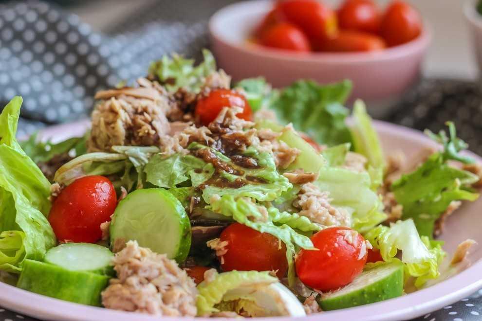 Летние салаты - рецепты с фото