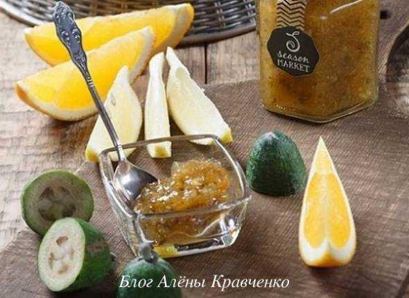 Фейхоа и мед - рецепты для здоровья и красоты