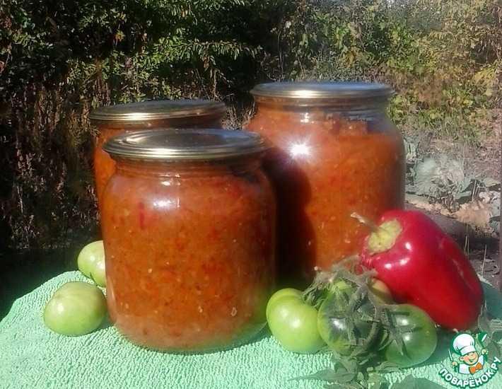Икра из зеленых помидор: рецепты объедение на зиму с фото и видео