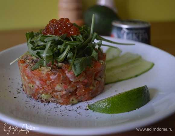 Тартар из лосося и авокадо - 20 рецептов: закуски | foodini