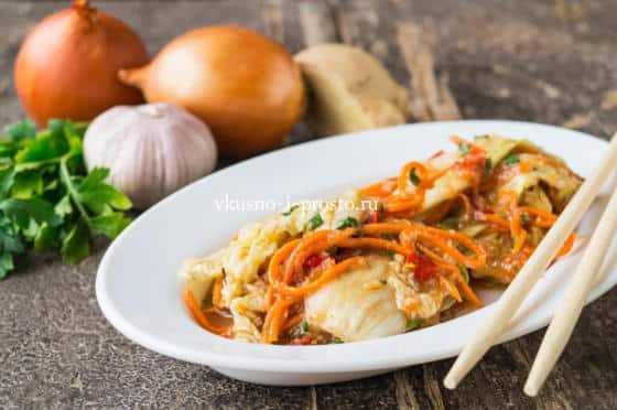 Пикантное кимчи: рецепты пекинской капусты по-корейски