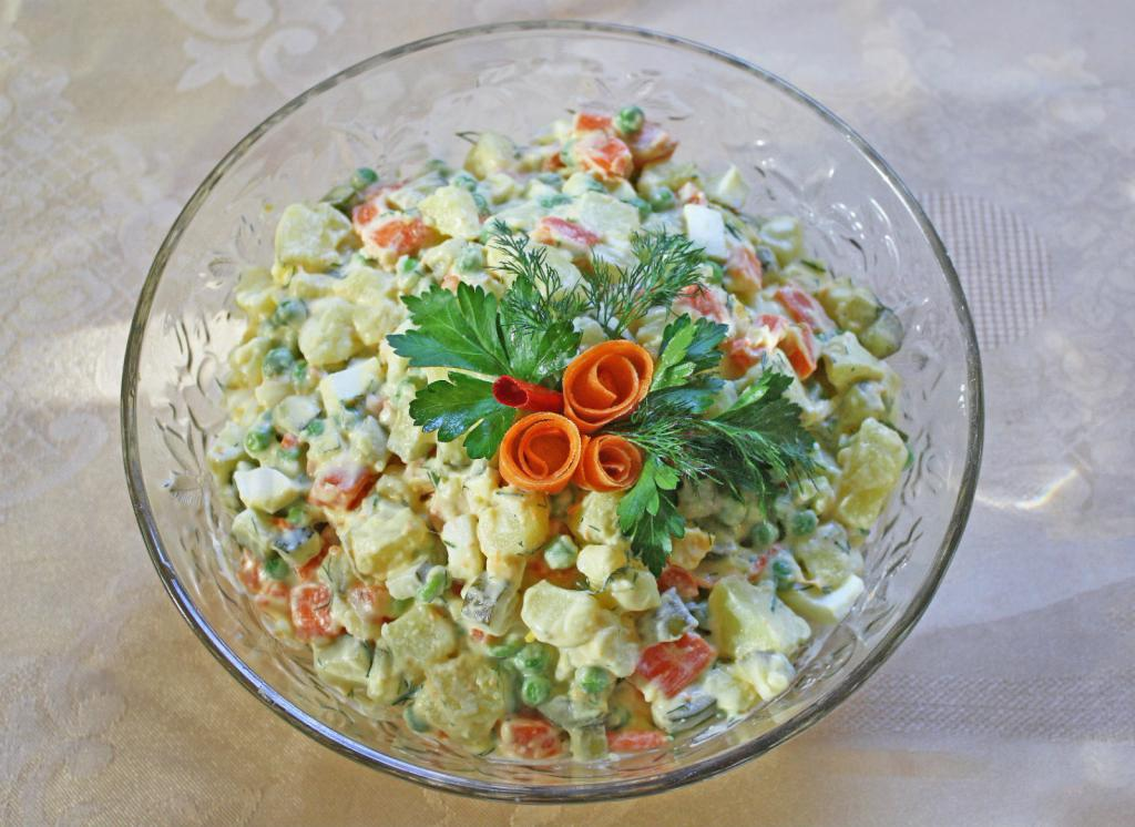 Салат столичный— классический рецепт с фото, как приготовить оригинально столичный салат