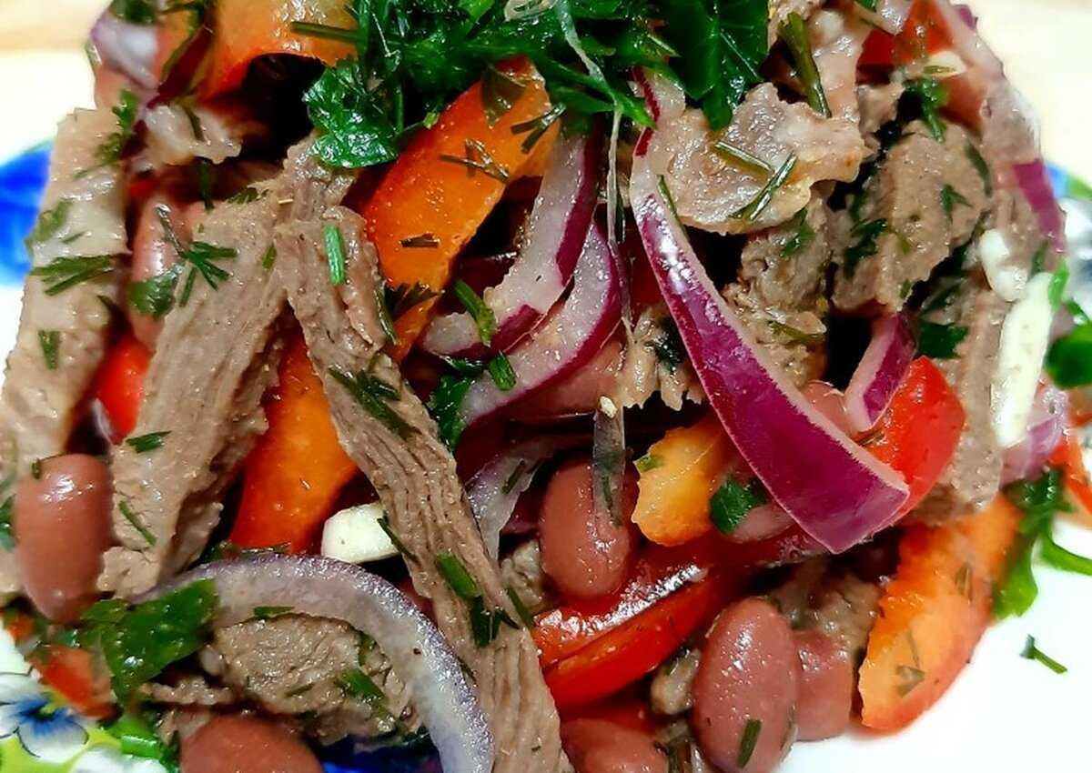 Салат ташкент — лучшие рецепты