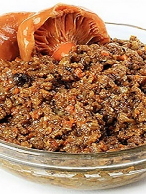 Пирог с рыжиками и картошкой
