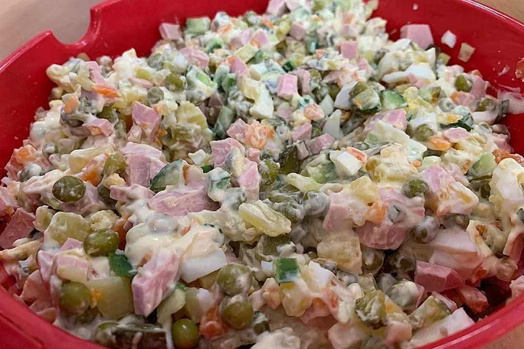 Как приготовить зимний салат с мясом? | рутвет - найдёт ответ!