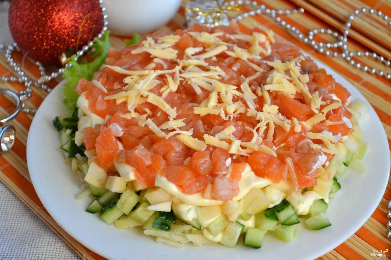 Салаты с яблоками рецепты с фото пошагово - рецепты на каждый день