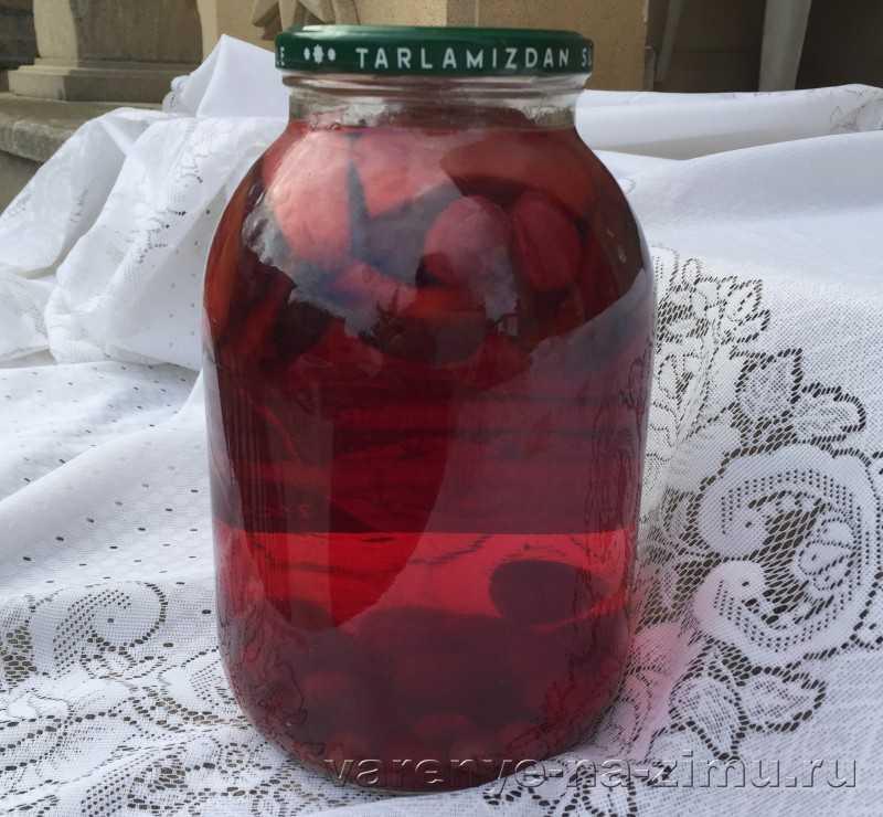 Компот из клубники на зиму - 5 простых рецептов на 3 литровую банку