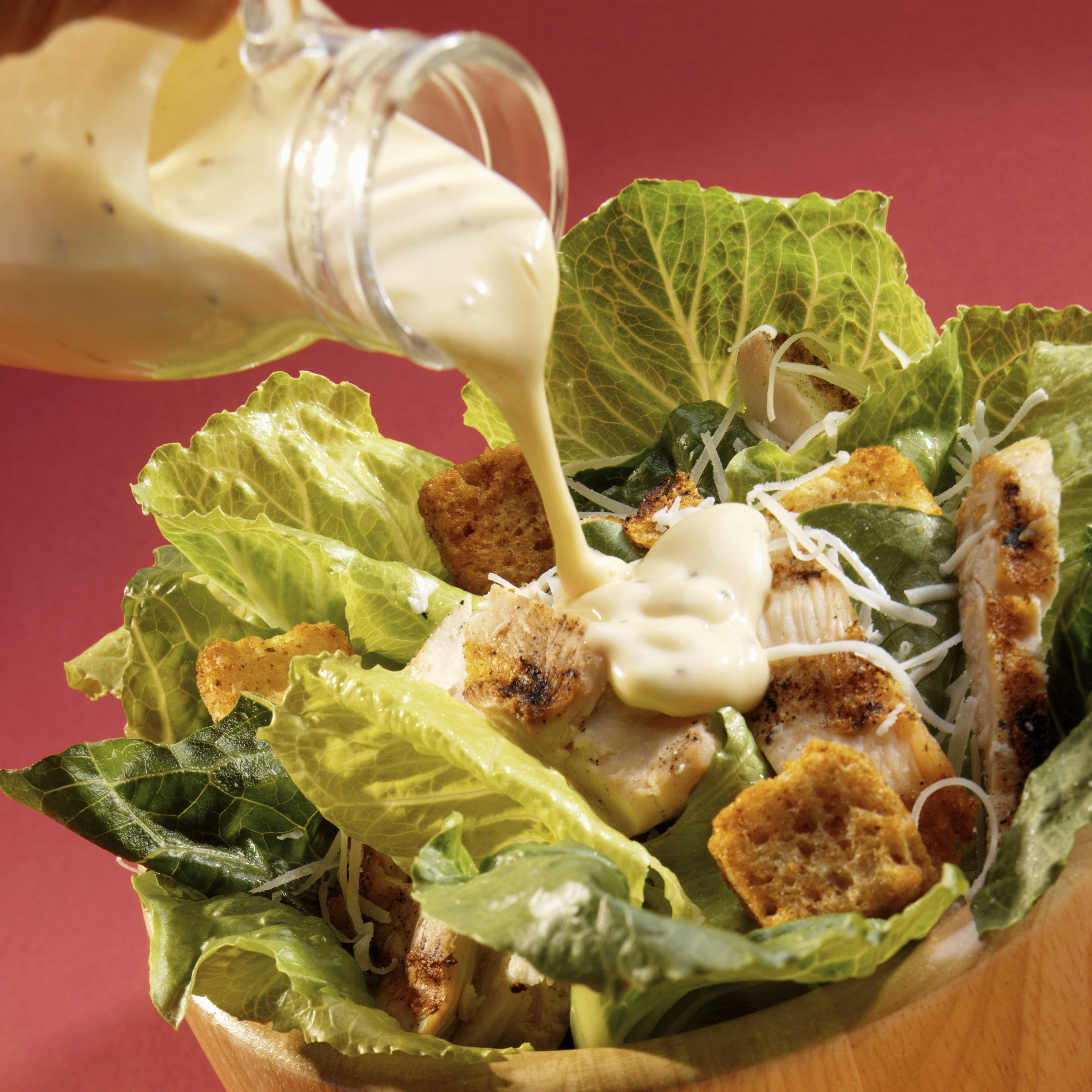 Горчичный соус для салата