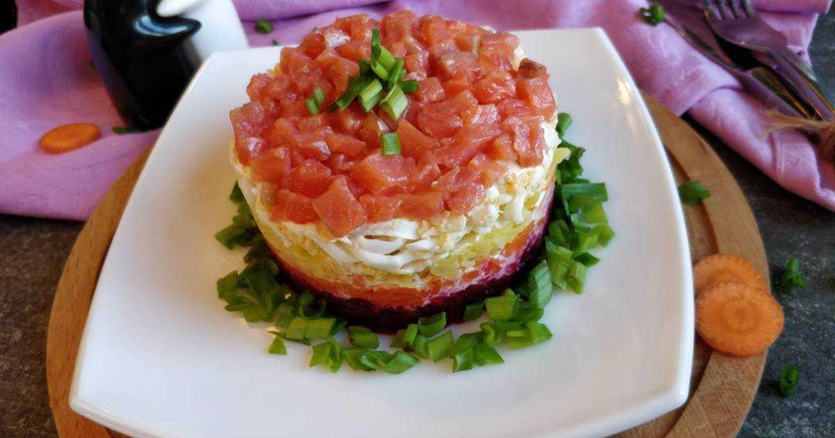 Салат с авокадо и семгой рецепт с фото пошагово - 1000.menu