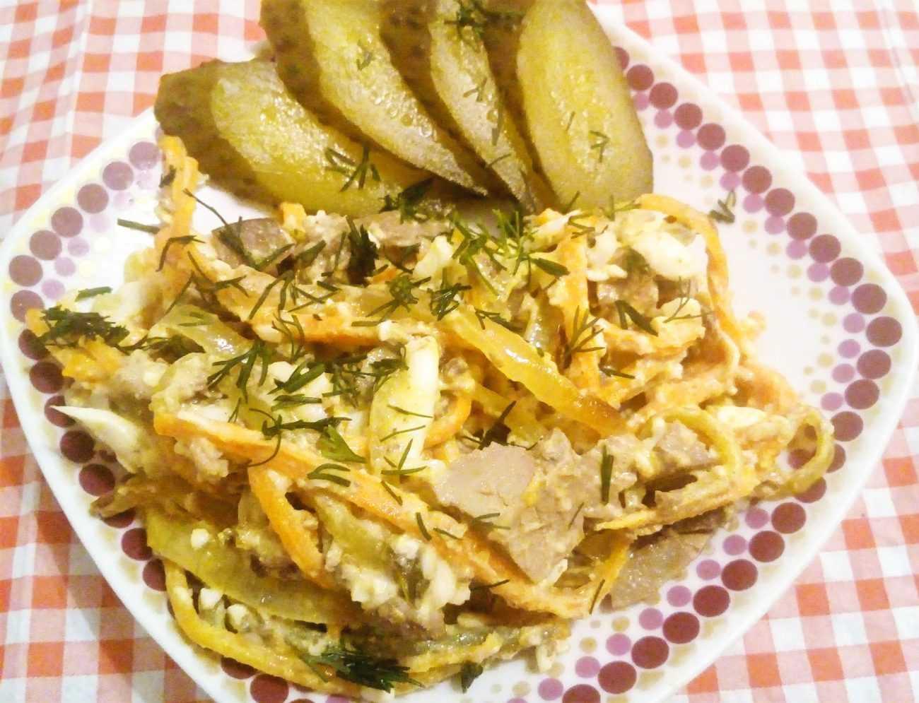 Салат батумский от ивлева рецепт с фото пошагово и видео - 1000.menu