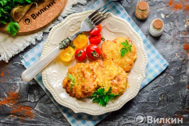 Куриные котлеты по албански из курицы