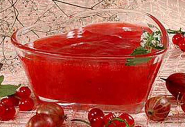 Джем из красной смородины на зиму - простой рецепт пятиминутка густое без варки с фото пошагово