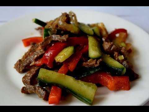 Огурцы по корейски с мясом - экзотика вкусов: рецепт с фото и видео
