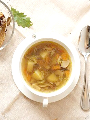 Суп из замороженных подберезовиков – вкусный рецепт