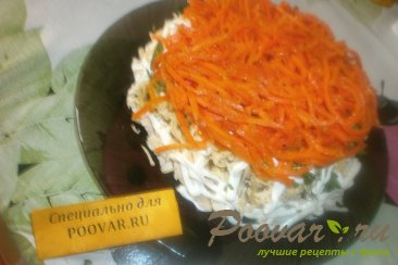 Салат бунито с корейской морковкой