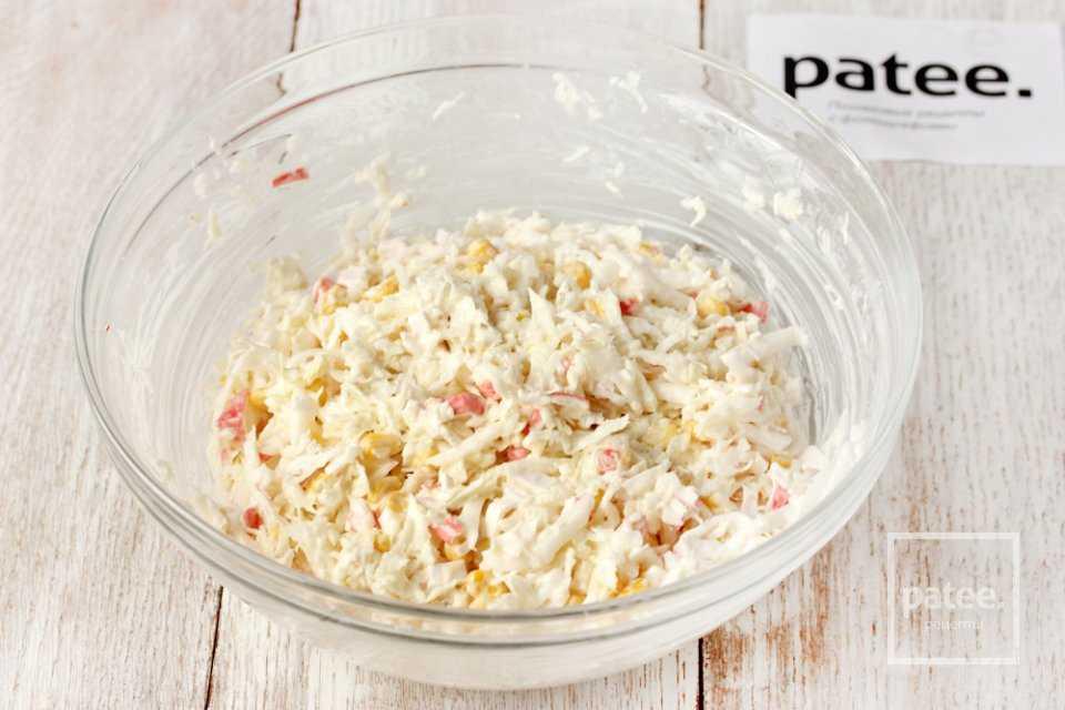 Салат из пекинской капусты и кукурузы - 172 рецепта: салаты   foodini