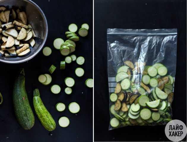 Замораживаем овощи на зиму правильно. 5 практичных советов