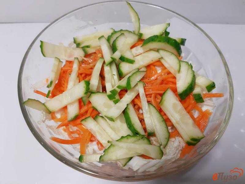 Салат с корейской морковью и ветчиной, рецепт с фото — wowcook.net