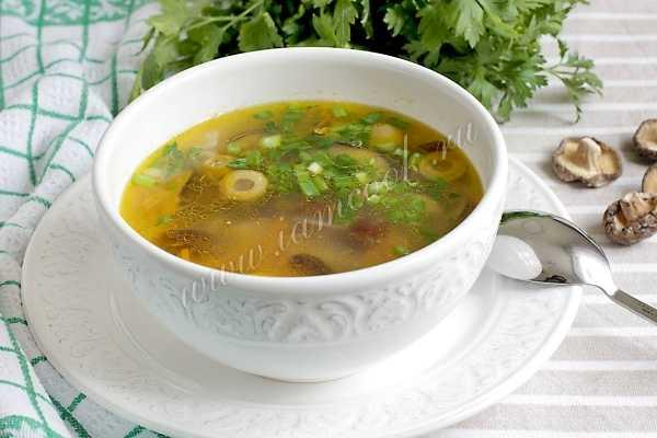 Суп из сушеных грибов: 5 рецептов с фото