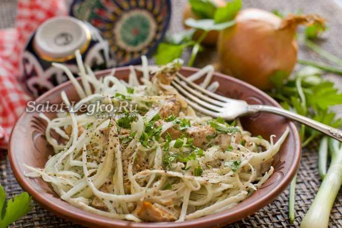 Редька по узбекски. узбекский салат с редькой ташкент (видео-рецепт)