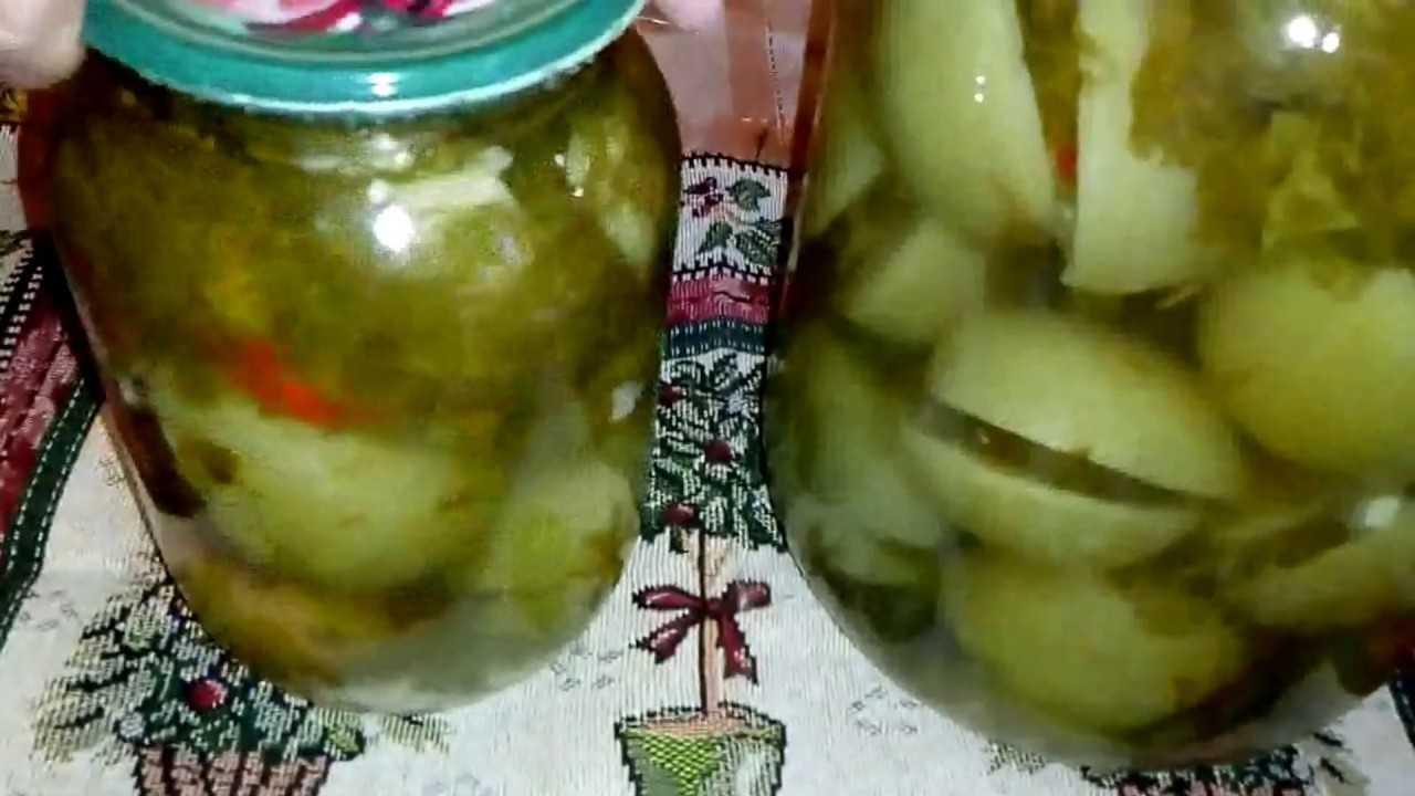 Зеленые помидоры маринованные с чесноком рецепты с фото фоторецепт.ru