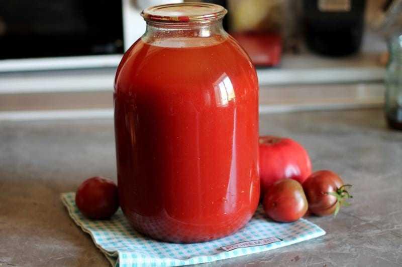 Томатный сок рецепт приготовления с фото