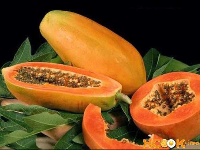 Фрукт папайя полезные свойства и вред для организма