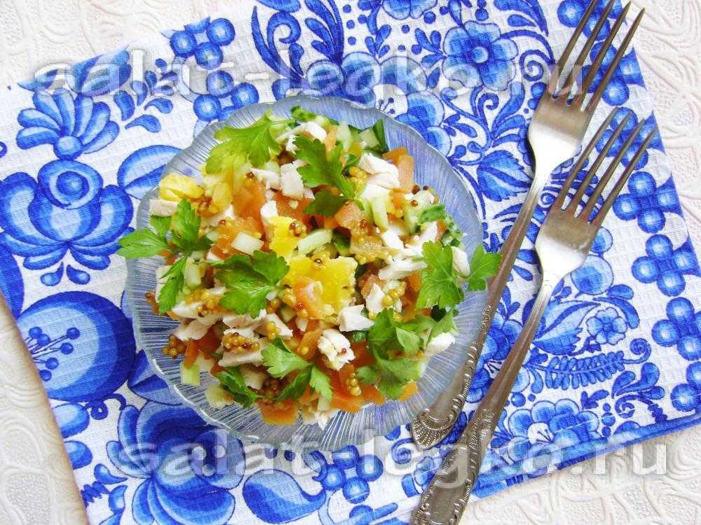 Салат «прага» с курицей и черносливом — лучшие рецепты, оригинальные варианты!