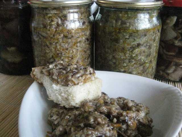 Грибная икра из опят: 4 простых рецепта приготовления грибной икры
