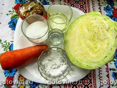 Капуста маринованная по-корейски: классический рецепт и способы быстрого приготовления с морковью и другими ингредиентами, а также фото блюд, варианты, как их подать русский фермер