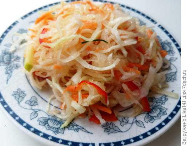 Маринованная капуста: рецепт быстрого приготовления с болгарским перцем, быстрые варианты засолки
