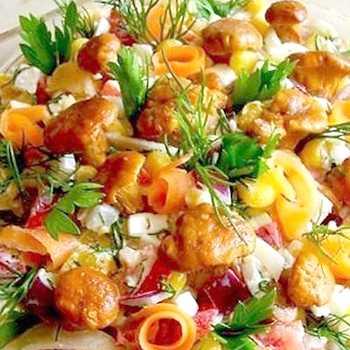 Как готовить салат из соленых рыжиков, свежих, маринованных и жареных. 12 лучших и простых рецептов приготовления: пошаговое описание процесса.