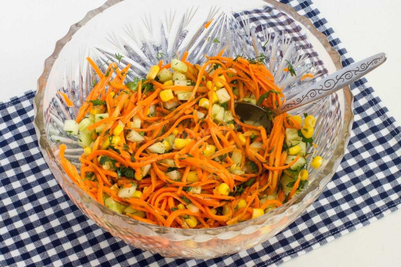 Салаты с корейской морковью: 10 рецептов с фото и видео