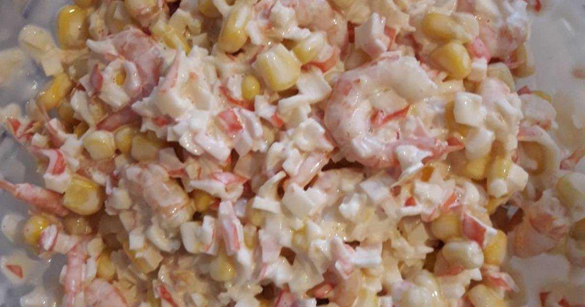 Салат креветки огурец яйцо рецепт с фото пошагово и видео - 1000.menu