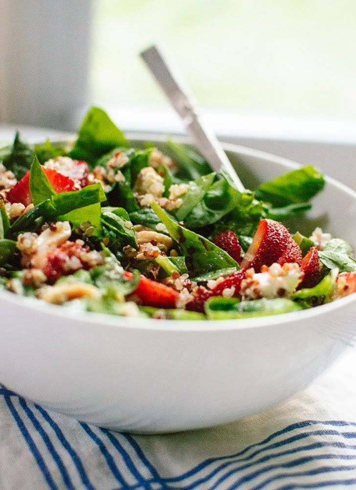 Рецепт салата с киноа