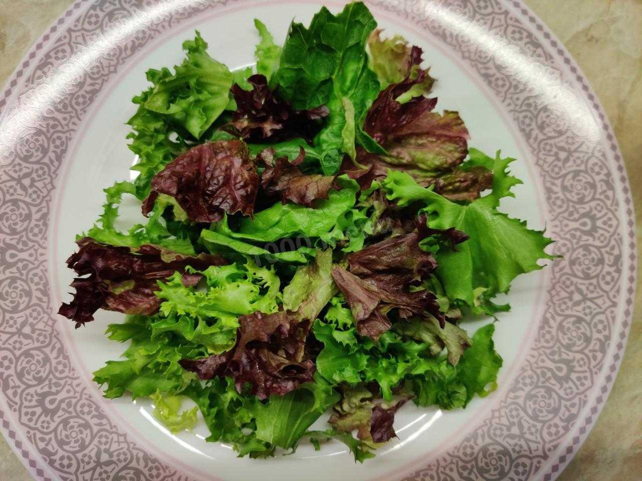 Салат с жареными грибами - отлично сочетается со всеми продуктами: рецепт с фото и видео