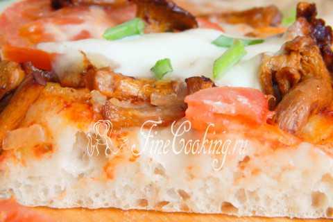 4ernika » пицца с лисичками