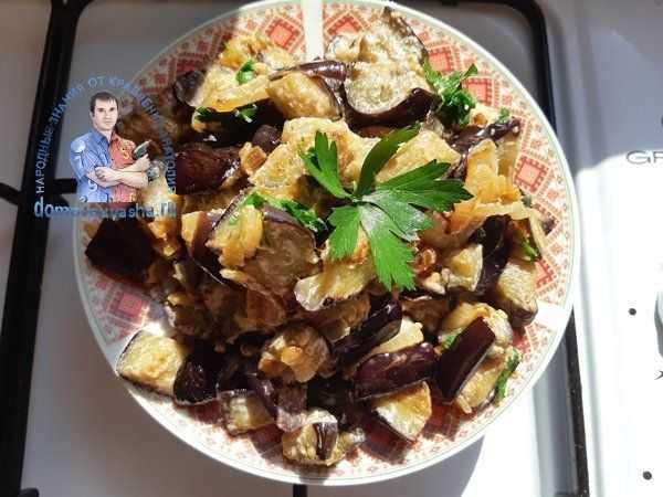 Баклажаны как грибы: быстрые и вкусные рецепты салатов и заготовок на зиму