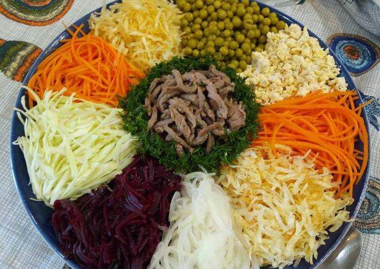 Салат чафан пошаговый рецепт