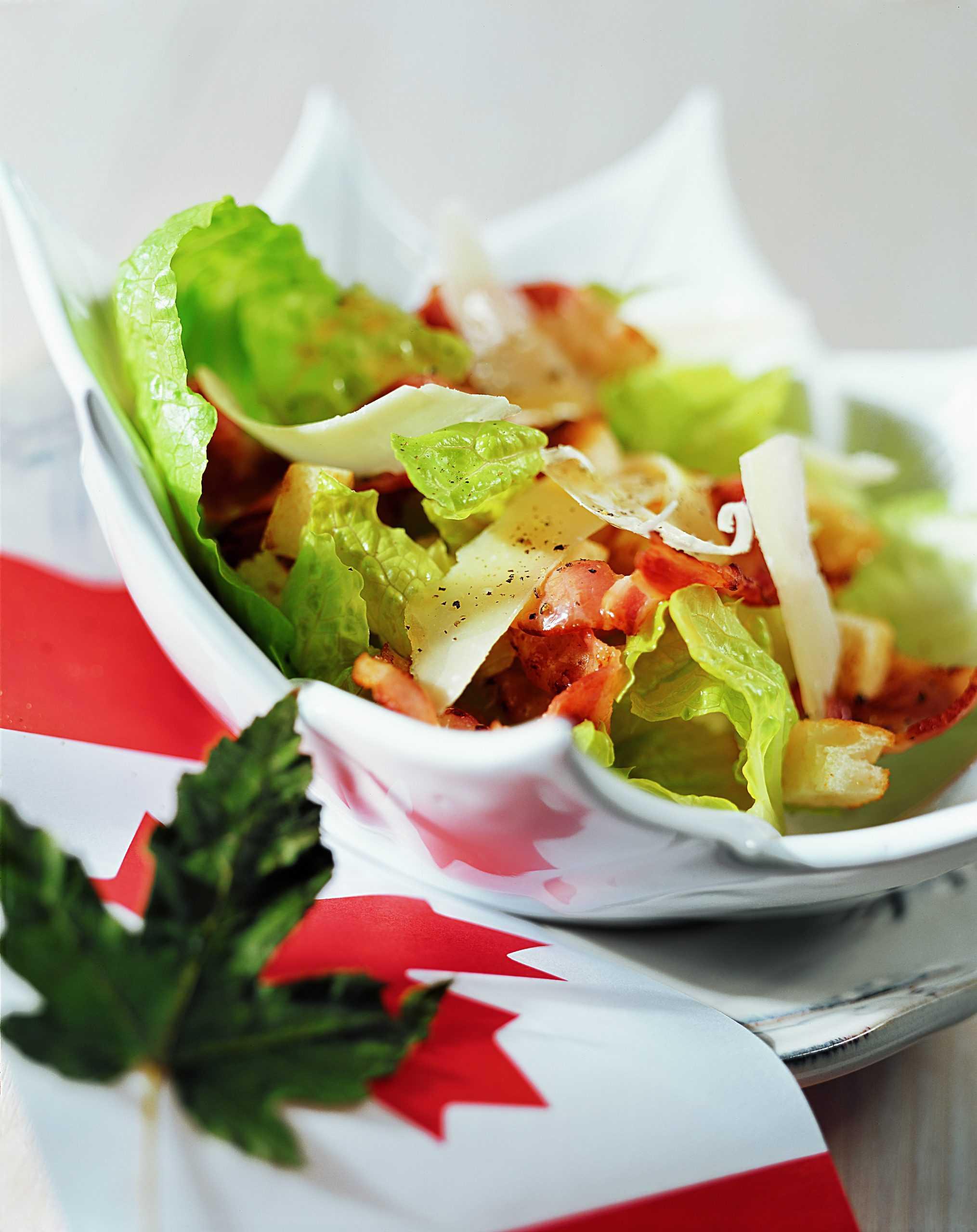 Пп салат цезарь с курицей