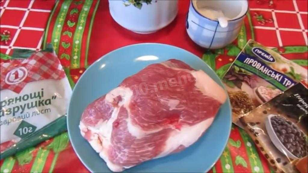 Буженина из свинины. 6 рецептов буженины в домашних условиях