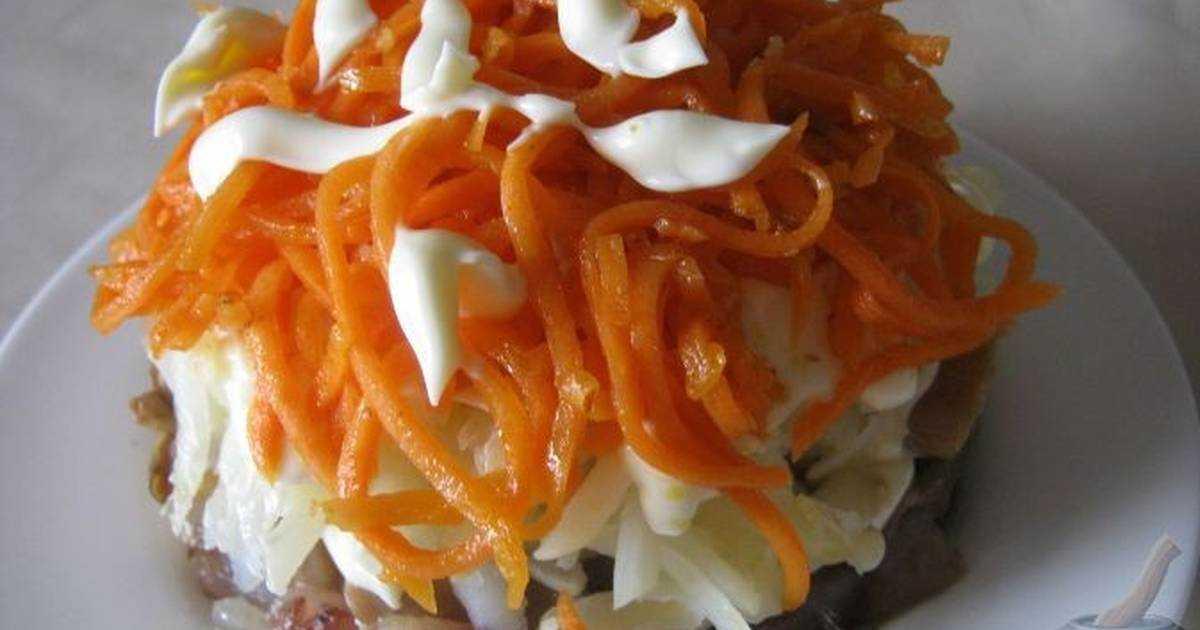 Вкуснятина для любителей селедки — салат лисья шубка