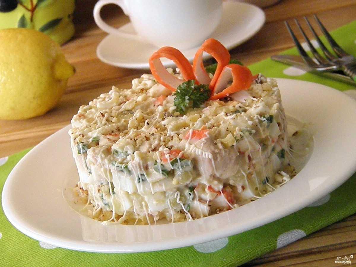 Салат с курицей и ананасом - 10 пошаговых рецептов с фото