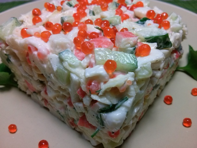 Салат «морское дно»: рецепты