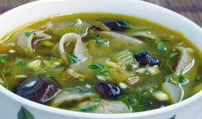 Суп из сушеных грибов - пошаговый рецепт приготовления с фото