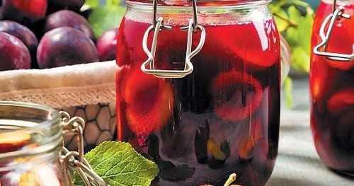 Компот из терна на 3 литровую банку на зиму — 5 рецептов с фото пошагово