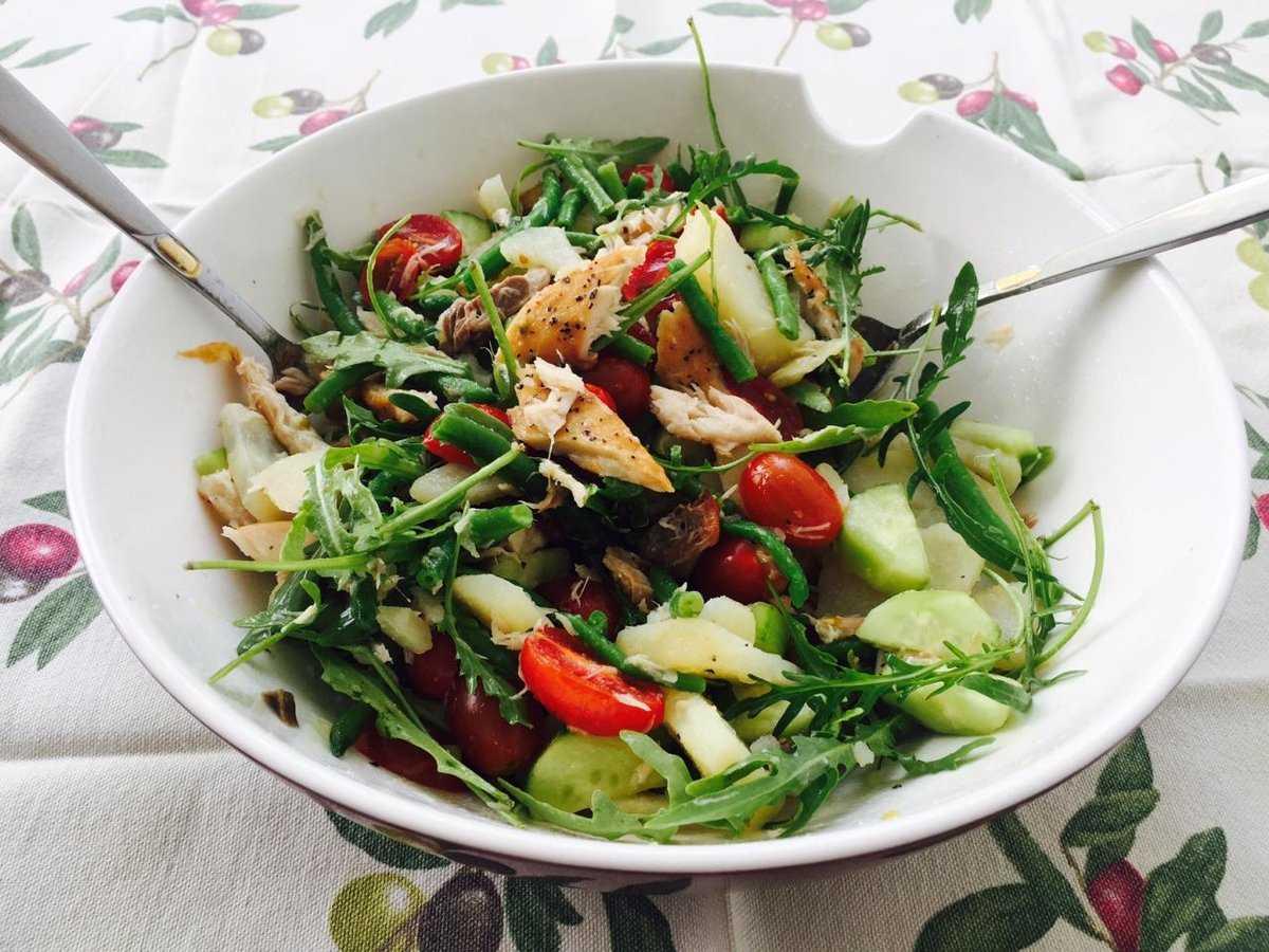 Салат с тунцом и фасолью: рецепт, подготовка продуктов, порядок приготовления