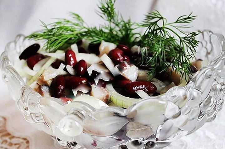 Салат из сельди по датски рецепт с фото пошагово - 1000.menu